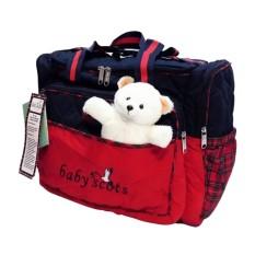 Spesifikasi Baby Scots Large Diaper Bag Tas Perlengkapan Bayi Bordir Boneka Besar Isedb011 Merk Baby Scots