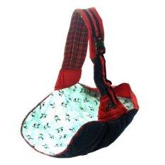 Baby Scots Slingrider 2 Baby Carrier ISG008 Gendongan Samping - Merah