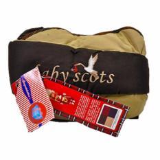 Baby Scots Slingrider 3 Baby Carrier ISG009 Coklat - Gendongan Samping