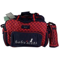 Obral Baby Scots Tas Bayi Besar Berry Bag 4 Merah Murah
