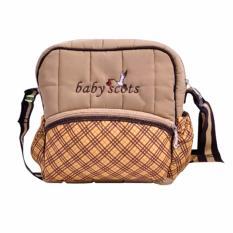 Spesifikasi Baby Scots Tas Berry Bag 1 Coklat Isbb01 Tas Perlengkapan Bayi Baby Scots