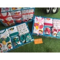 Harga Baby Set Bayi Kiddy 11163 Baju Celana Bib Dan Sepatu Bayi Satu Set