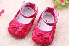 Promo Bayi Sepatu Warna Solid Rose Bayi Langkah Sepatu Putri Sepatu 0050 Lampu Merah Oem