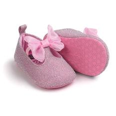 Bayi Sepatu Musim Dingin Putri Sepatu Lembut Bawah Non-slip Belajar untuk Langkah Sepatu Putri Sepatu JRR00101 Pink-Intl