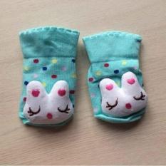 Bayi Kaus Kaki Anti-Slip Kapas Bayi Sepatu Kaos Kaki Kartun Animal Boots Kaus Kaki Boneka-Intl