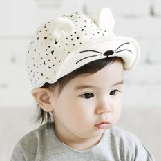 Bayi Musim Semi Musim Panas Topi Baseball Hitam Putih-Intl 3f4cdbd94c