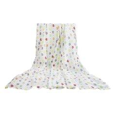 Baby Swaddle Wrap Blanket Unisex Menerima Selimut Bath Towel Stroller Wrap Sleeping Cover Nursery Cover untuk Bayi Balita Anak-anak Terbaik Shower Hadiah 115X115 Cm-Intl