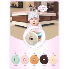 Baby Talk - Pengaman Pinggiran Furniture - Pengaman Bayi Multifungsi Dekorasi Rumah Meja Kursi - Pengaman Empuk Pengaman Untuk Melindungi Bayi Dari Benturan - Perlengkapan Bayi Baby Safety Warna Random