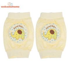 Bayi Balita Bernapas Mesh Kapas Kartun Bantalan Lutut Merangkak Pelindung-Internasional By Welcomehome.