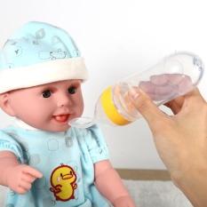 Toko Bayi Balita Cangkir 90 Ml Baby Balita Feeding Botol Dengan Sendok Sereal Squeeze Feeder Kuning Intl Terlengkap Di Tiongkok