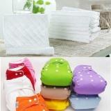 Katalog Bayi Balita Sisipan Liners 10 Pcs Sisipan Reusable Baby Washable Popok Untuk Cloth Diaper Balita Internasional Terbaru