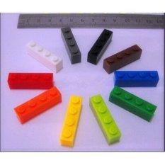 Mainan Bayi 12 Warna 120 Pcs Batu Bata 1mm * 4mm DIY Enlighten Block Kompatibel dengan International Batu Bata Merakit Bata Blok Mainan-Intl