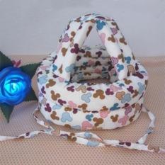Baby Walk Balita Bayi Keselamatan Hangat Cap/Topi Melindungi Kepala Bayi Helm Kepala Guard