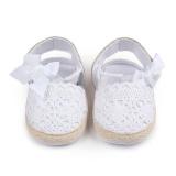 Cara Beli Bayi Berjalan Sepatu Hollow Bow Bayi Sepatu Velcro D0668 Merah