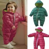Tips Beli Baby Winter Pakaian Luar Jaket Rompers Rose Red Intl