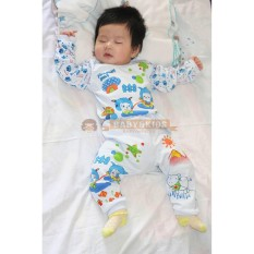 Babyandkids Setelan Piyama Soft Katun Sheep Baju Tidur Anak Murah