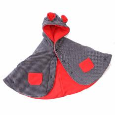Harga Babycape Selimut Jaket Bayi Black Tartan Red Baby Cape By Bibbo Original