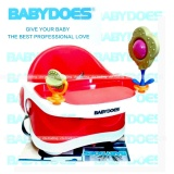 Babydoes 3 Stage Booster Seat With Play Tray Kursi Makan Anak Merah Babydoes Diskon 50