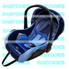 Ulasan Tentang Babydoes Classic 2 In 1 Baby Car Seat And Baby Carrier Biru