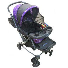 BabyDoes Shoxer T4 CH-267LF - Baby Stroller Kereta Dorong Bayi - Ungu