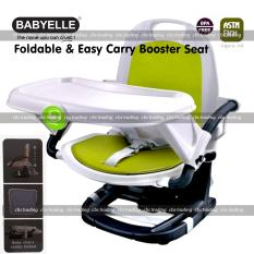 Diskon Besarbabyelle 5 Stage Booster And Easy Carry Booster Seat Kursi Makan Anak Hijau