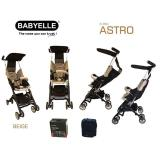 Promo Babyelle Stroller S350 New Reclining Astro With Bagpack Indonesia