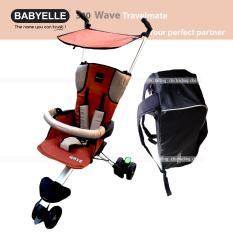 Beli Babyelle Travelling Stroller New Wave With Bag Kereta Dorong Bayi Buggy Merah Pake Kartu Kredit