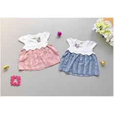 Babyfit Atasan Dress Baby Terusan WILLOW Baju Bayi Santai Impor Murah Cantik Kain Tenun Bunga