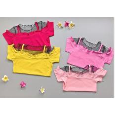 Babyfit BETTY Blouse Blus Baju Anak Atasan Impor Katun Halus Jaring Keren Kasual Baju Santai