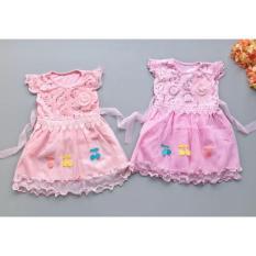 Babyfit MELODY Dress Baju Pesta Rempel Renda Bayi Anak Perempuan 1-4 Thn Import Rok Tutu