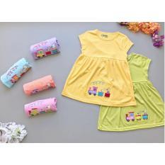 Babyfit TUTUT FAMILY Baju Daster Anak Perempuan 2 3 4 Tahun Katun Kaos Adem Baju Tidur Piyama Bobo