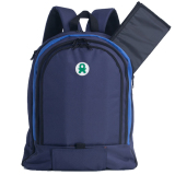 Babygo Inc Plum Backpack Navy Biru Original