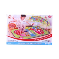 Review Babykid Toy Mainan Anak Balita Animal Hopscotch Play Mat Karpet Dengan Bunyi Musik Dan Hewan Terbaru