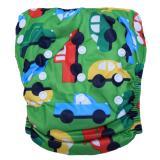Ulasan Babyland Celana Bayi Anti Bocor Murah Ukuran 8 22 Kg Green Car Clodi Popok Bayi Dengan 1 Insert Microfiber