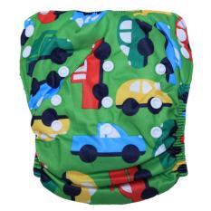 Harga Babyland Celana Bayi Anti Bocor Murah Ukuran 8 22 Kg Green Car Clodi Popok Bayi Dengan 1 Insert Microfiber Online