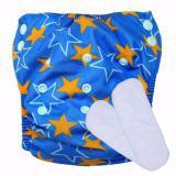Harga Babyland Celana Clodi Bayi Cuci Ulang Motif Starlight Untuk Bayi Berat 8 Sampai 20 Kg Dengan 2 Penyerap Ompol Microfiber 3 Lapis Murah