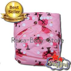Ongkos Kirim Babyland Pocket Motif Pink Tree Popok Bayi Cuci Ulang Dengan 1 Insert Microfiber Clodi Bayi Cloth Diapers Pampers Kain Di Banten