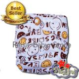 Toko Babyland Pocket Motif Smiley Popok Bayi Cuci Ulang Dengan 1 Insert Microfiber Clodi Bayi Cloth Diapers Pampers Kain Online