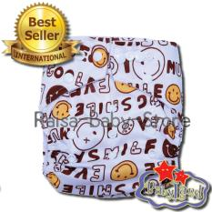 Review Babyland Pocket Motif Smiley Popok Bayi Cuci Ulang Dengan 1 Insert Microfiber Clodi Bayi Cloth Diapers Pampers Kain Babyland