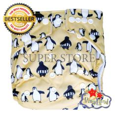 Toko Babyland Popok Bayi Cuci Ulang Pocket Motif Pinguin Dengan 1 Insert Microfiber Clodi Bayi Cloth Diapers Pampers Kain Terlengkap Di Banten