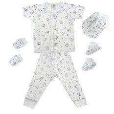 Spesifikasi Babylon Baby Clothes Set Chik Chik Blue Terbaik
