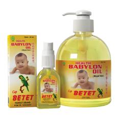 Spek Babylon Oil 30 Ml Babylon Oil 430 Ml Paket Babylon Oil