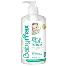 Review Toko Babymax Natural Bottle Utensils Cleanser 500Ml