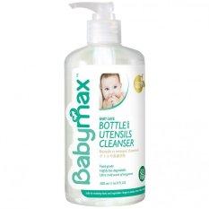 Babymax Premium Bottle And Utensils Cleanser Sabun Premium Pencuci Botol Dan Alat Makan Bayi 500Ml Promo Beli 1 Gratis 1
