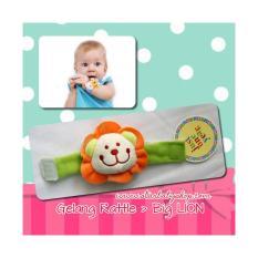 Babymix - Baby Hand Rattle - Gelang Rattle Bayi - Big Lion