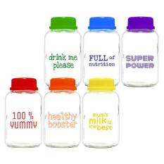 Spesifikasi Babypax Rainbow Breastmilk Glass Bottle Pack 150Ml Isi 6 Paling Bagus
