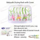 Jual Babysafe Drying Rack With Cover Rak Pengering Botol Dengan Tutup Branded Murah