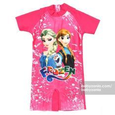 Babyzania Baju Renang Anak - Fuschia Frozen