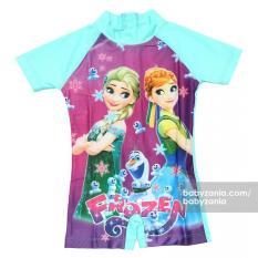 Babyzania Baju Renang Anak - Green Frozen