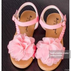 Babyzania Sepatu Anak Light Pink Flower Multi Diskon 50